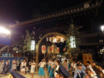 天神祭の大阪天満宮