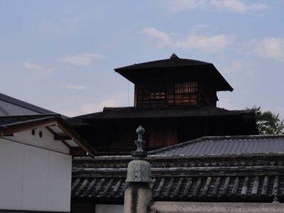 西本願寺 飛雲閣 (裏側)