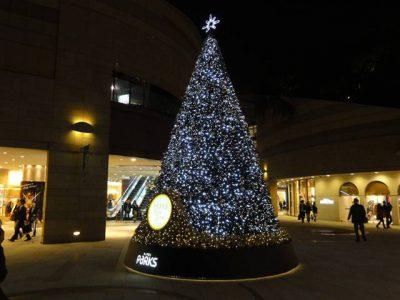 パークスのクリスマスツリー