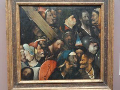 ヒエロニムス・ボス 十字架を担うキリスト