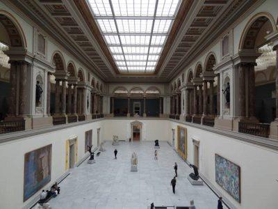 ベルギー王立美術館内部