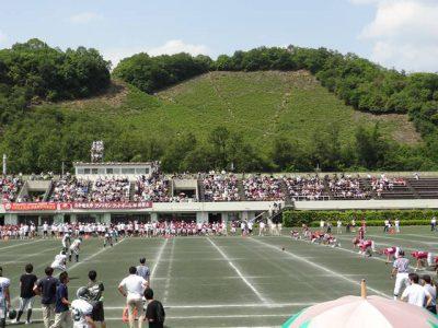 春の京大-立命戦@宝ヶ池球技場