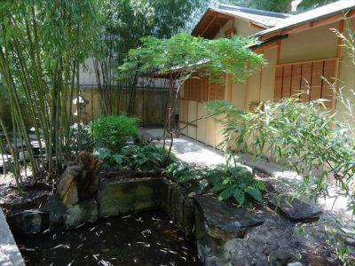ギメ東洋美術館別館の庭園