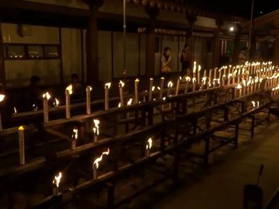 四天王寺 万灯供養