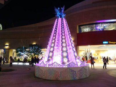 クリスマスツリー@なんばパークス