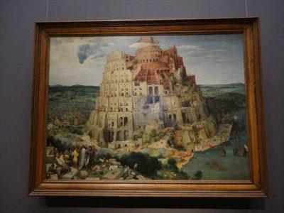 ピーテル・ブリューゲル(父) バベルの塔