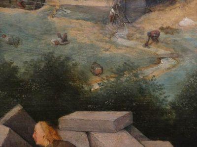 ピーテル・ブリューゲル(父) 「バベルの塔」の一部