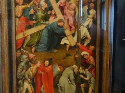 ヒエロニムス・ボス 十字架を運ぶキリスト