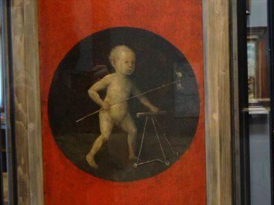 ヒエロニムス・ボス Christ Child with a Walking Frame