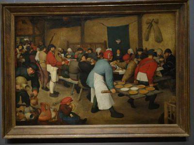 ピーテル・ブリューゲル(父) 農民の婚宴