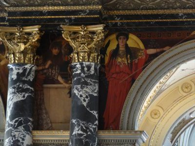 美術史美術館のクリムトによる壁画