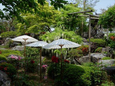奥院の庭園