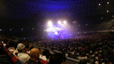 大阪市中央体育館 内部
