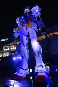 実物大ガンダムRX-78-2立像