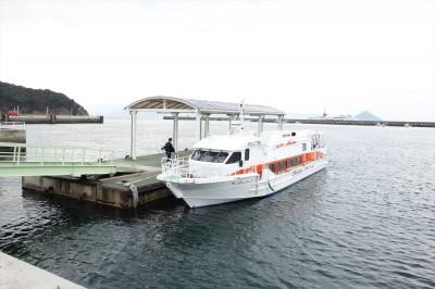 高速艇 (直島~豊島)