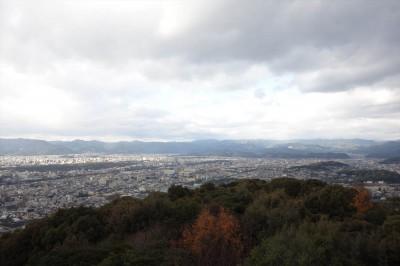 将軍塚からの景色