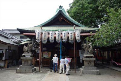 彌榮神社本殿