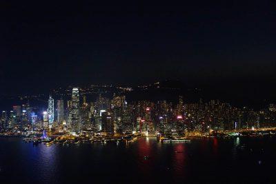 環球貿易広場100階からの夜景