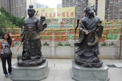 黄大仙祠 十二支像