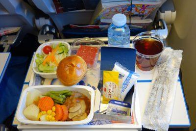 KLM868便メインの食事