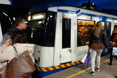 アムステルダムの地下鉄