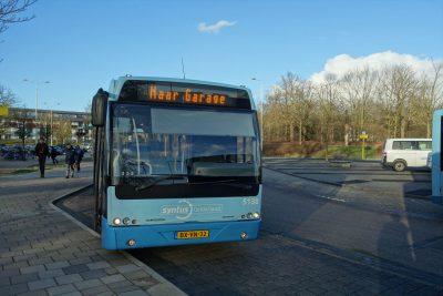移動に使ったバス