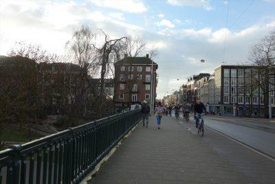 アムステルダムの朝