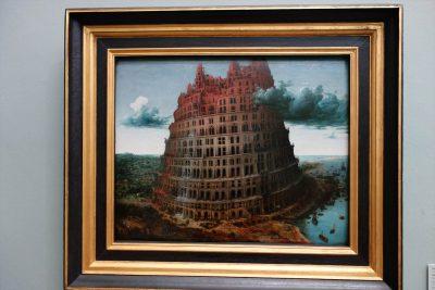 ピーテル・ブリューゲル(父)「バベルの塔」