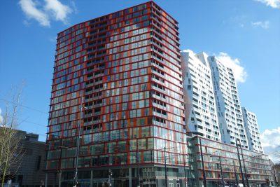 ロッテルダムのビル
