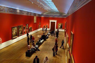 エルミタージュ美術館アムステルダムの展示の様子