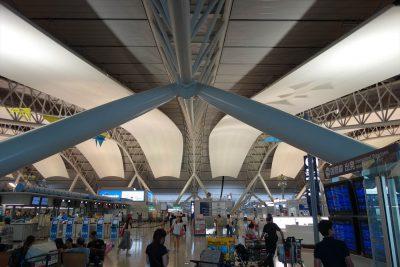 関西空港国際線出発ロビー