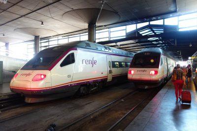 renfeの高速列車