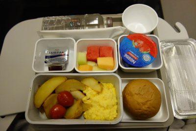 CX315便の朝食