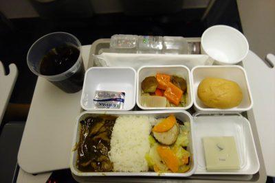 CX315便のメインの食事