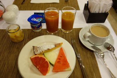 ホテルでの朝食その2
