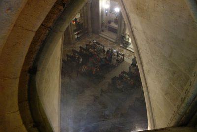 サグラダ・ファミリア地下礼拝堂