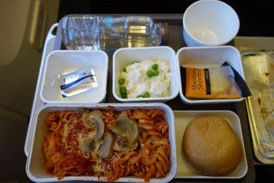 CX506便の食事