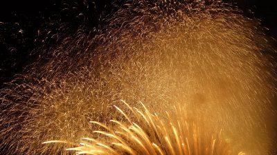 フィナーレの花火