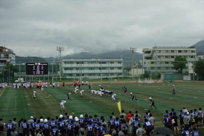 京都大学農学部グラウンド