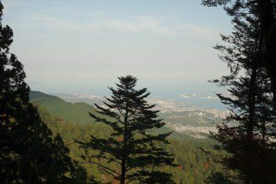 比叡山からの琵琶湖