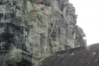 中央祠堂の彫刻